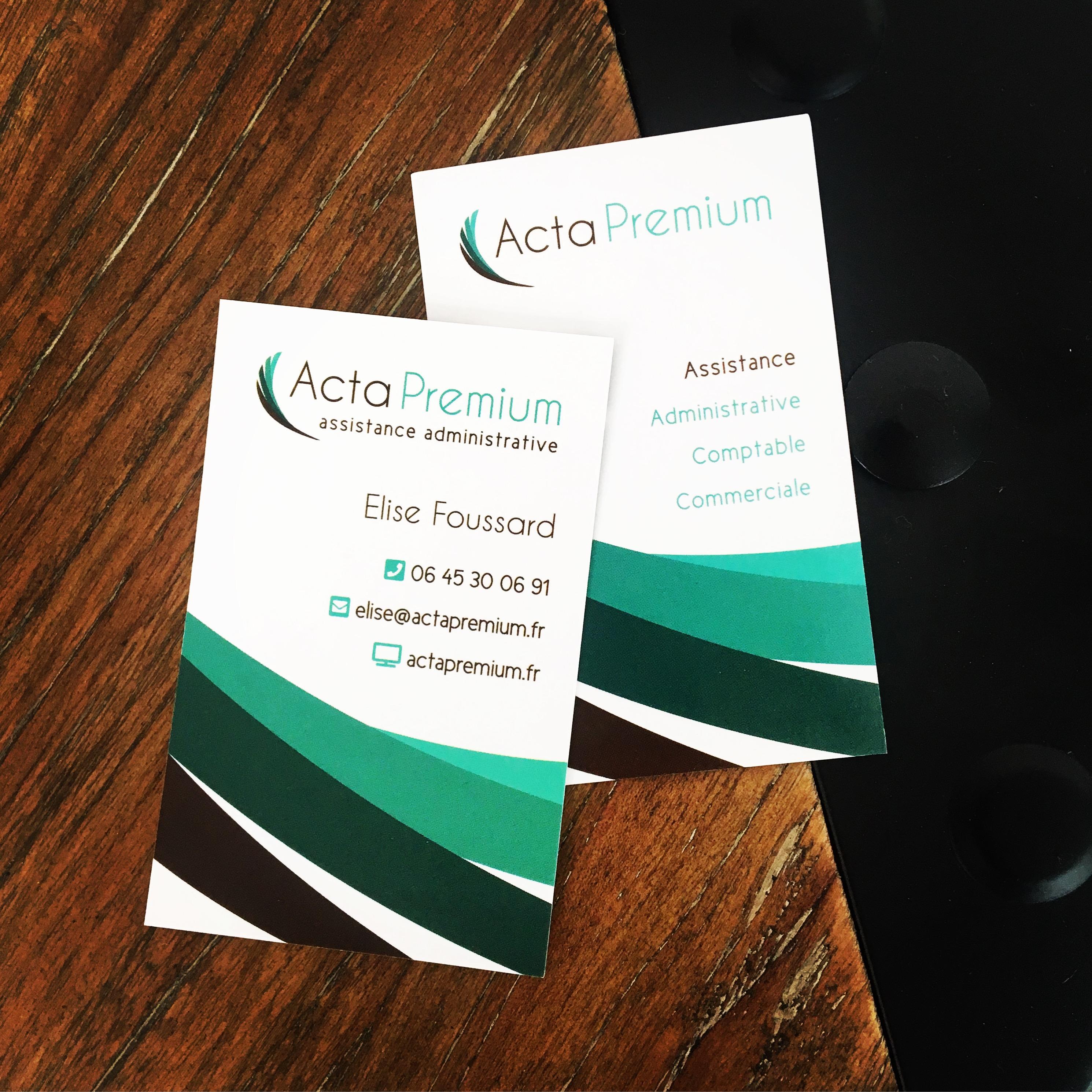 Acta Premium Carte de visite