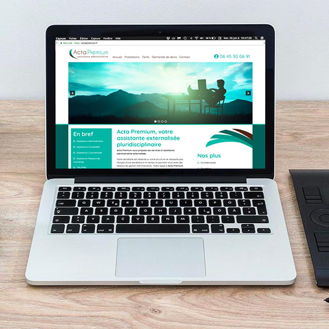 Acta Premium Site Web